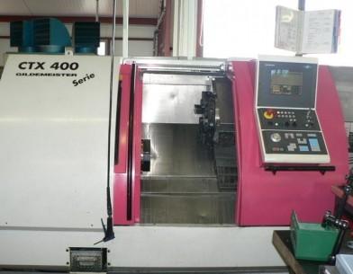 GILDEMEISTER, CTX 400 S2 V3, CNC LATHE, LATHES | MachMarket com