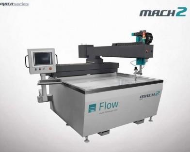 FLOW, Mach 2 1313b, WATERJET CUTTING MACHINES, SHEET METAL