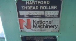HARTFORD, 0-500, THREAD ROLLERS, THREAD ROLLERS