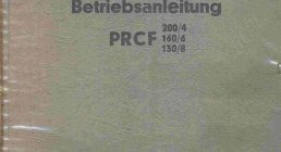 PITTLER, PRCF 200/4 PRCF 160/6 PRCF 130/8, OPERATING MANUALS, OPERATING MANUALS