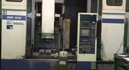 WORKING CENTER WITH MOVING COLUM, MORI SEIKI M-300 L / 1600, VERTICAL, MACHINERY CENTERS
