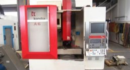 VERTICAL MACHINING CENTER KONDIA, Kondia A-6, VERTICAL, MACHINERY CENTERS