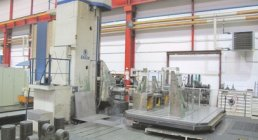 SKODA, WD 160, HORIZONTAL TABLE TYPE, BORING MILLS