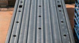 FLOOR PLATES CAST IRON, 2000 x 6000 mm, BOLSTER PLATES, ACCESSORIES
