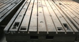 CLAMPING PLATES IN CAST IRON, 2000 x 6000 mm, BOLSTER PLATES, ACCESSORIES