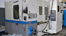 OKUMA, MA-40HA, HORIZONTAL, MACHINING CENTERS
