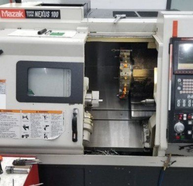 MAZAK, QTN NEXUS 100 CNC TURNING CENTER, CNC LATHE, LATHES