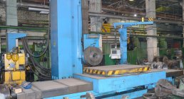 UNION, BFKP-130 CNC, HORIZONTAL FLOOR TYPE, BORING MILLS